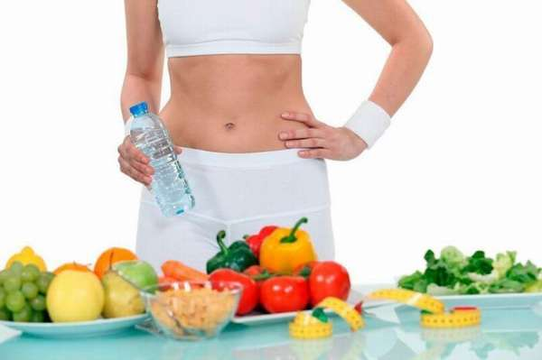Физзарядка и диета