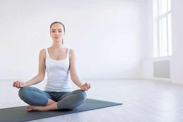Йога облегчает диету