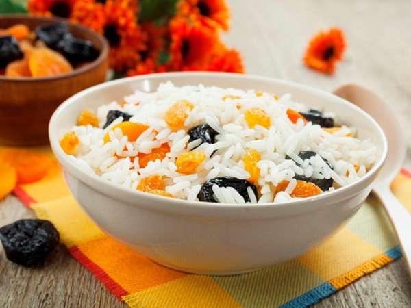 калорийность риса отварного