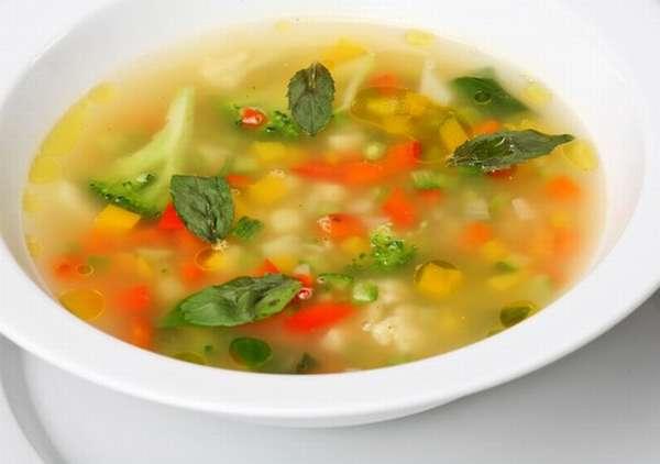 Суть такой диеты - в течение каждого дня можно есть только суп из овощей