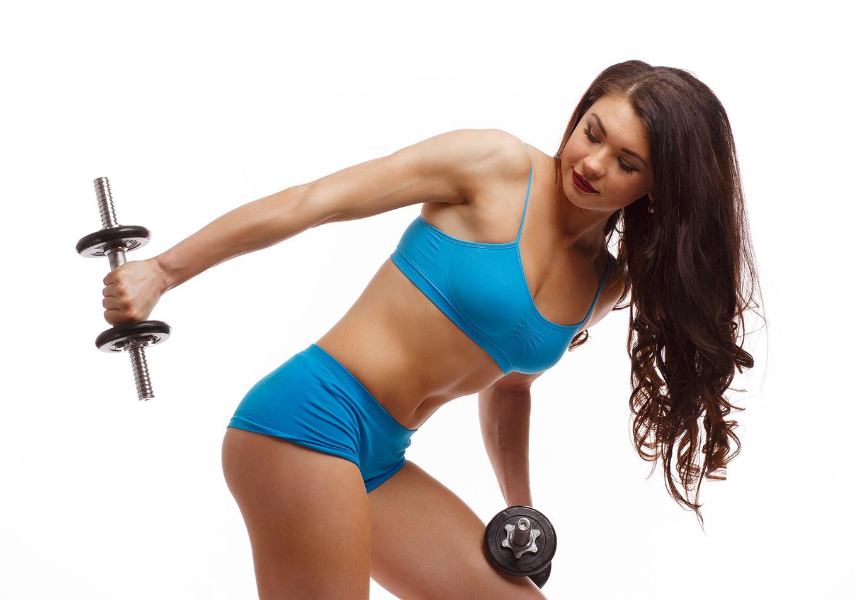 упражнения для трицепса для девушек