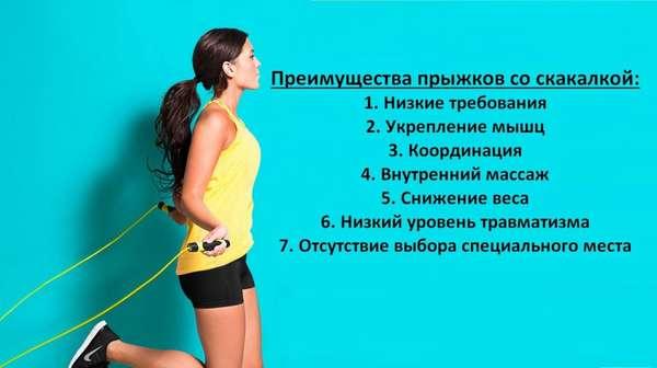 Выгодные стороны тренировок со скакалкой