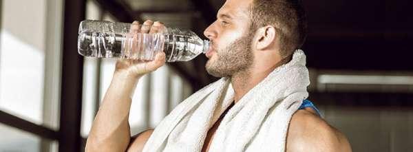 питье во время тренировки