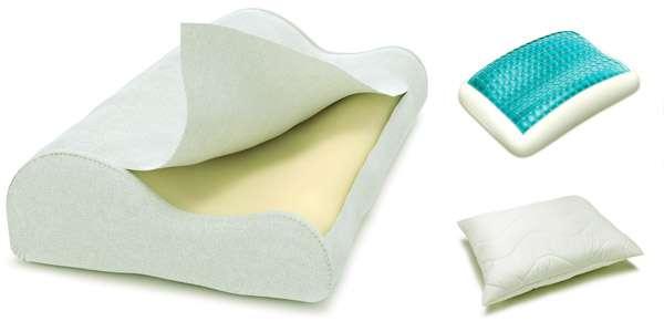 Ортопедические подушки виды