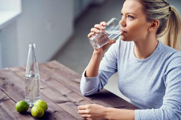 Пейте много воды