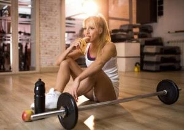 Что есть после тренировки для похудения?
