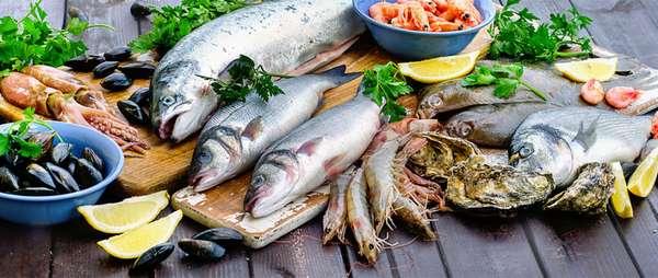 Ценность рыбы и морепродуктов