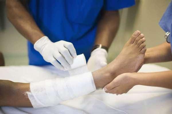 Вправление и фиксация сустава у травматолога