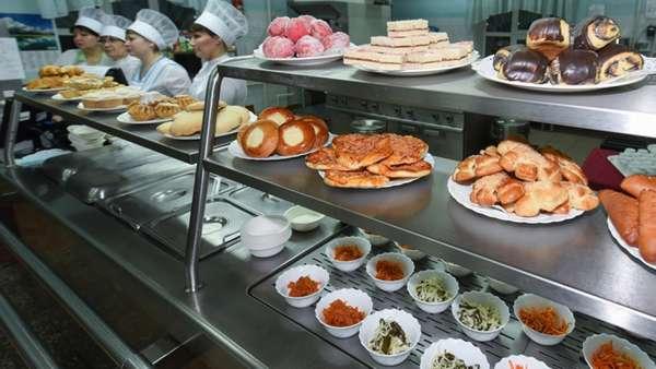 В столовых еда далека от хорошего качества