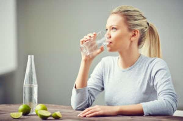 Соблюдайте надлежащий питьевой режим
