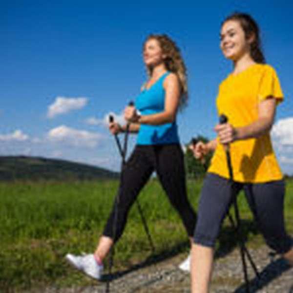 Скандинавская ходьба с палками техника ходьбы для похудения