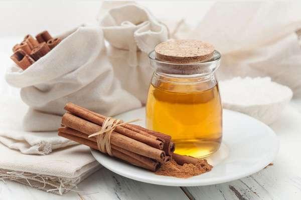 корица и оливковое масло