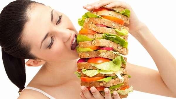 повышеный аппетит