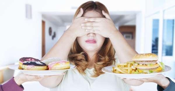 Пищевые привычки, мешающие похудеть