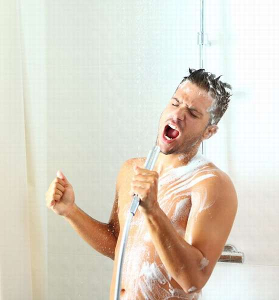зарядка утром, контрастный душ