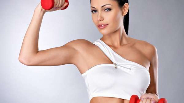 упражнение для похудения рук