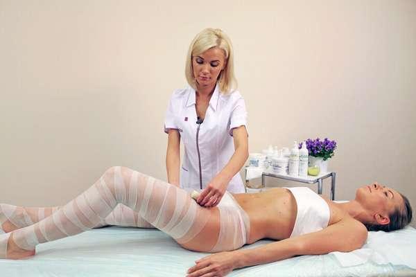 Горячие обертывания для ног