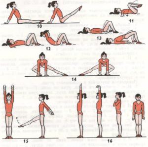 Правила хороших гимнастических занятий