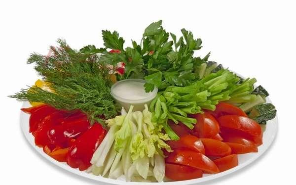 Блюда, приготовленные из свежих овощей
