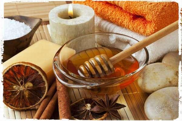 Медово-горчичное тесто для горячего обертывания.