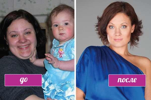 Екатерина Мириманова До и После