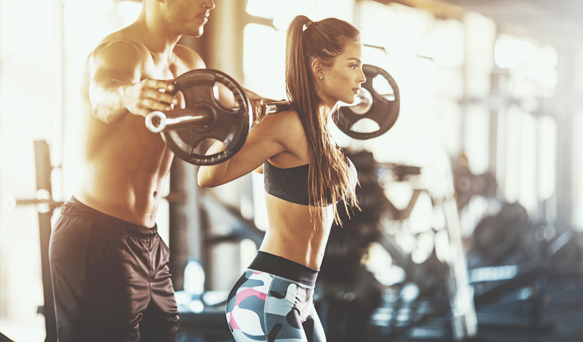 Силовая тренировка – отличный способ сбросить вес
