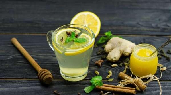 Напиток с зеленым чаем