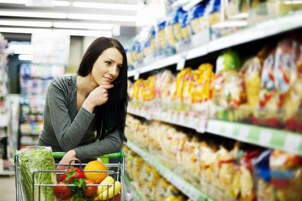 Ограничивайте себя в покупках еды