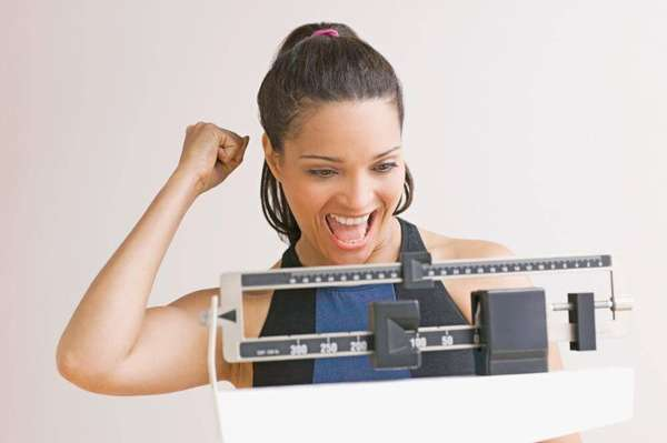 Вес снизился