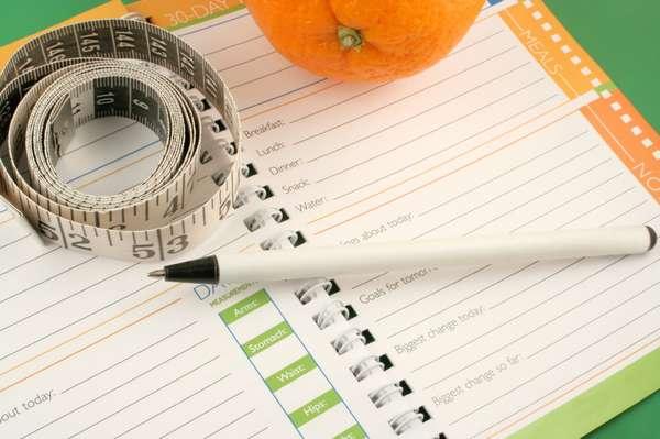 Подсчет употребленных калорий