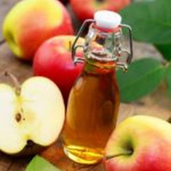 Яблочный уксус и соль