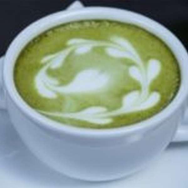 зеленый чай молочный