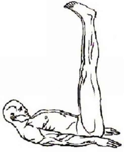 Подъем ног, головы
