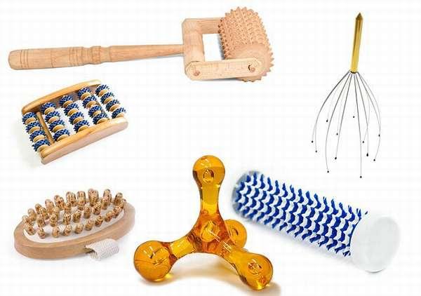 Вспомогательные инструменты для проведения массажа