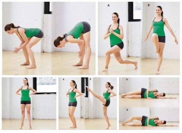 Упражнения для похудения ягодичной области