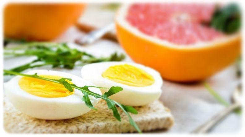 Рацион разгрузки на яйцах