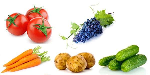 Фруктово-ягодно-овощные маски