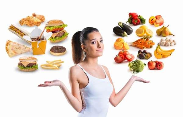 выбор правильного рациона питания