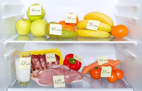 Постепенное снижение калорийности