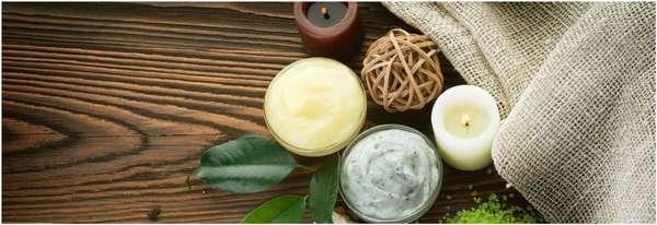 Натуральные продукты для приготовления масажного крема