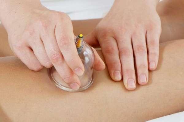 Техника выполнения массажа с помощью банок