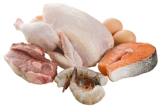 Постное мясо и рыбу