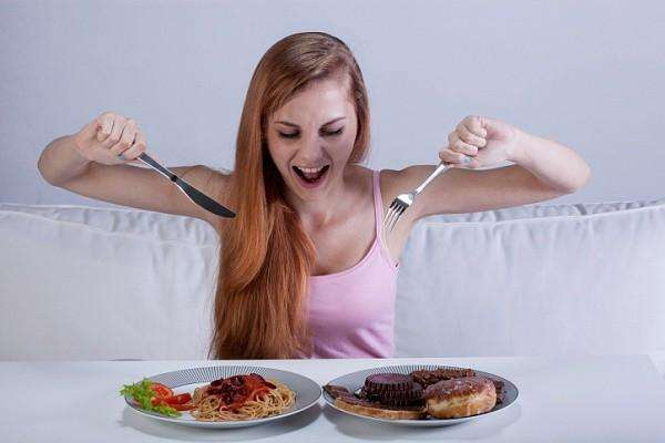 Быстрое употребление пищи