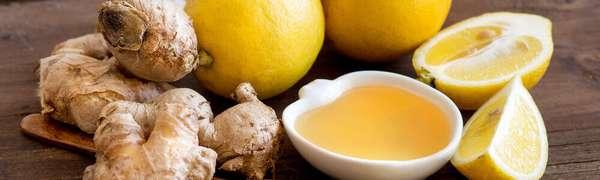 Сочетание лимона и имбиря
