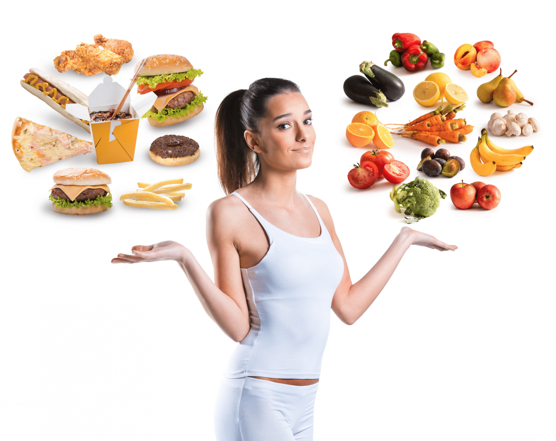 Правильно питание для желающих похудеть