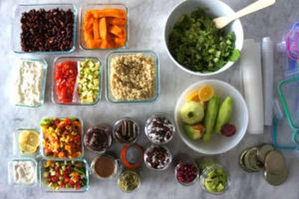 Дробное питание для похудения – меню на неделю в таблице