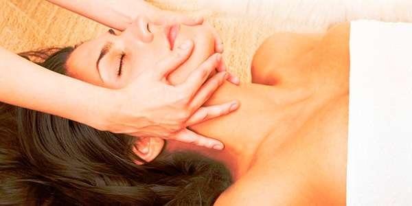 массаж личика женщине