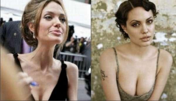 Теории о похудении актрисы Анджелины Джоли