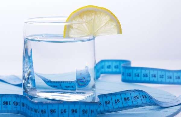 Вода помогает похудеть