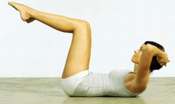 упражнений отжимание лежа на спине